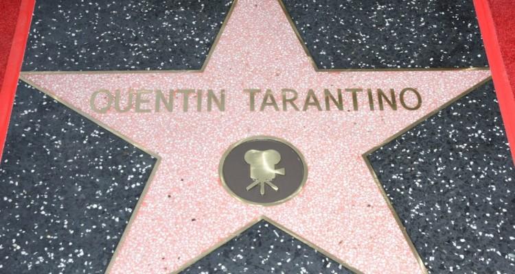 Brilla la stella di Quentin Tarantino sulla Walk of Fame