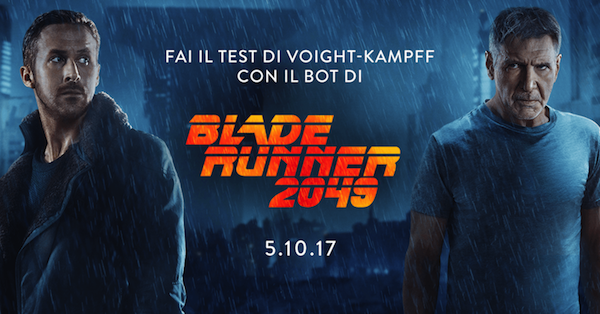 Box-Office Italia: Blade Runner 2049 vince il weekend con quasi 2 milioni