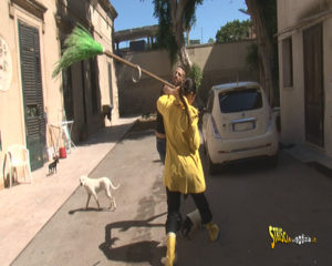 Stefania Petyx aggredita a Palermo