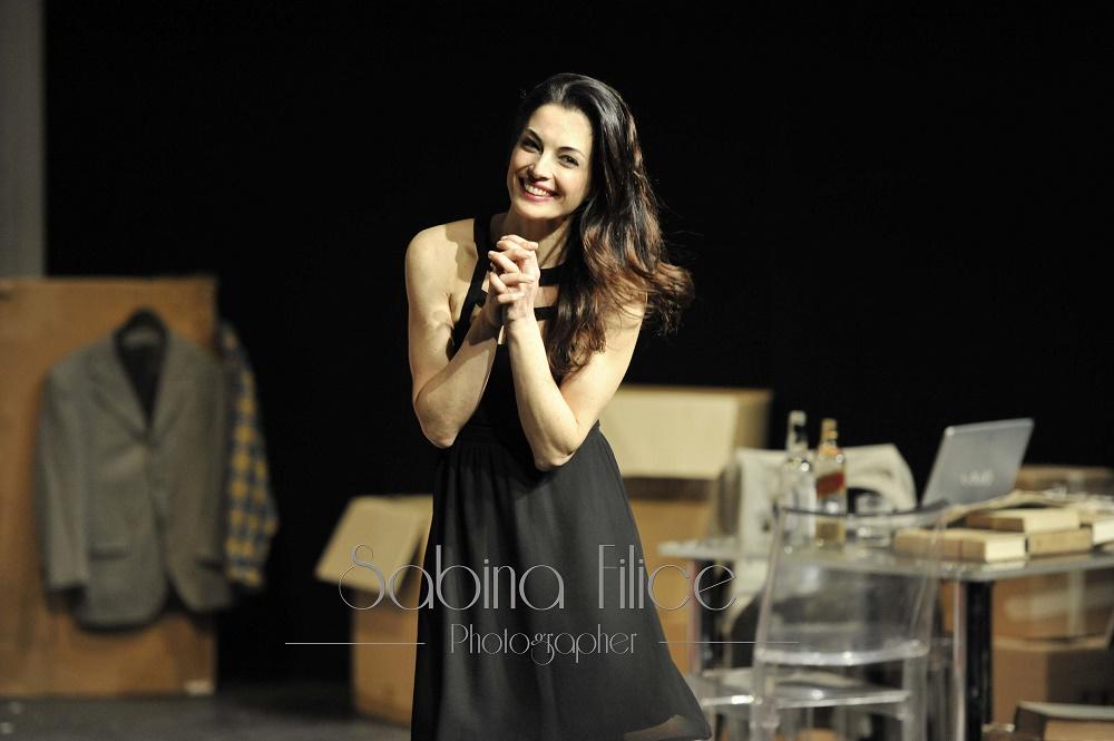 Eleonora Ivone, protagonista di Ospiti, scritto e diretto da Angelo Longoni