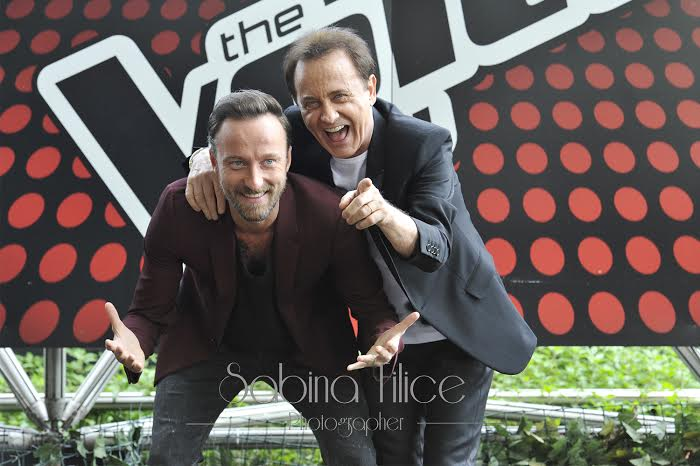I Facchinetti Coach-The Voice of Italy 2015. Ph.Sabina Filice