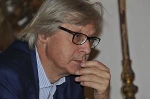 Vittorio Sgarbi primo piano. Ph. Gianluigi Cannella