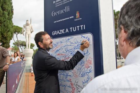 Il Sindaco di Roma al Tennis&Friends