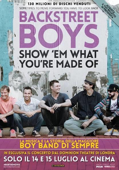 backstreet boys-locandina film