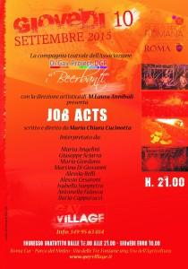 10 settembre Locandina Lab teatrale DGP-RID
