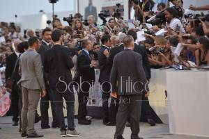 Johnny Depp red carpet Venezia