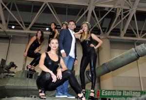 Giancarlo Fisichella a Fiera di Roma  con Supercar