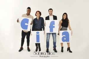 CIFA ONLUS: Keita Balde, Simona Guatieri, Giordano Petri e Sara Galimberti: #noiconloro