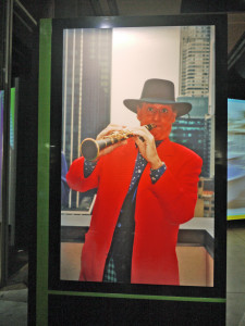Renzo Arbore in Mostra