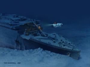 Relitto Titanic 1988