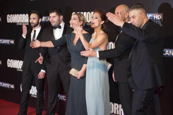 Gomorra 2: il cast. Ph. M. Arizzi