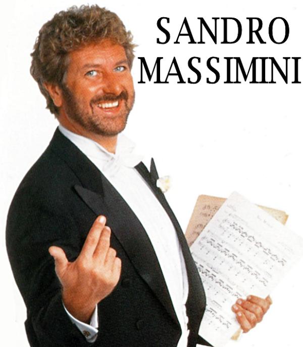 """SANDRO MASSIMINI """"La Tua Amata Operetta"""""""