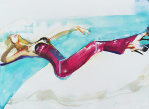 ''Dream'-65x76cm-acquerello-su-carta-di Anastasia Kurakina