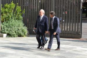 Michele Santoro, l'ingresso a Viale Mazzini