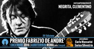 Premio Fabrizio De Andrè