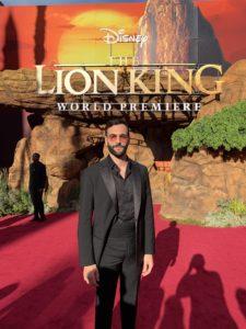 Premiere americana Re leone Marco Mengoni