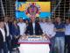 "Gerry Scotti festeggia le 700 puntate di ""Caduta Libera!"""