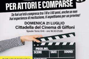 Casting Associazione Cinematografica del Cilento a Giffoni per progetti teatrali e cinematografici
