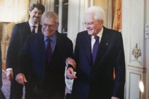 Raffaele Pisu e il Presidente Mattarella