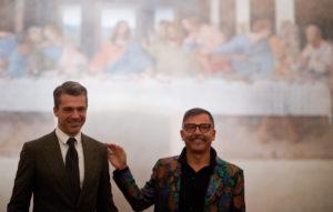 """Luca Argentero taglia il nastro del Cenacolo Vinciano. Quattro aperture straordinarie per """"Io Leonardo"""""""
