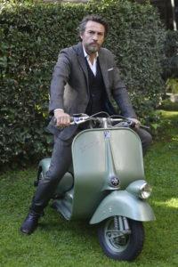 Alessio Boni è Enrico Piaggio