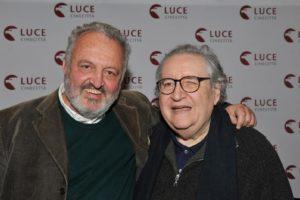 L'Italia agli Oscar, Steve Della Casa e Vincenzo Mollica Ph. S. Filice