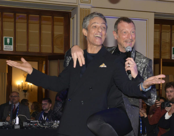 Fiorello e Amadeus Sanremo 2020